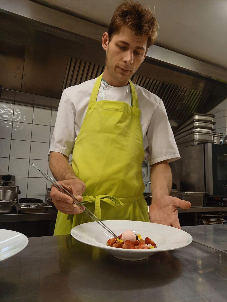Chef cuisinier Marc Monnet